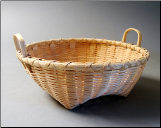 #7 Low Shaker Fruit Basket with Ear Handles